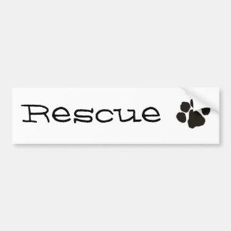 Rescue Bumper Sticker