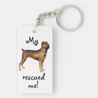 Rescue Cane Corso Keychain