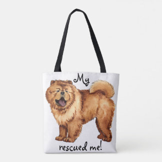 Rescue Chow Chow Tote Bag
