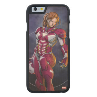 Rescue Defeating Superior Iron Man Carved Maple iPhone 6 Case