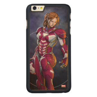 Rescue Defeating Superior Iron Man Carved® Maple iPhone 6 Plus Case