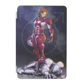 Rescue Defeating Superior Iron Man iPad Mini Cover