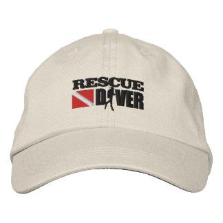 Rescue Diver 2 Cap (Embroidered)