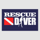 Rescue Diver 2 Sticker