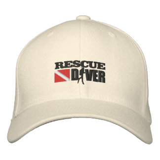 Rescue Diver (Embroidered Cap) Embroidered Baseball Cap
