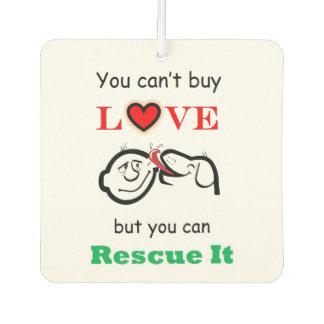 Rescue Dog Car Air Freshener