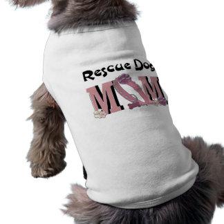 Rescue Dog MOM Pet Tee Shirt