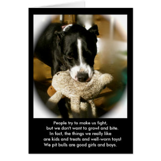 Rescue Dog Poetry Card