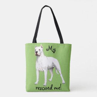 Rescue Dogo Argentino Tote Bag