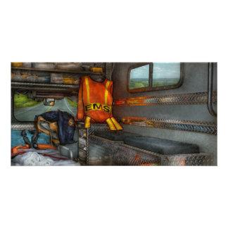 Rescue - Emergency Squad Custom Photo Card