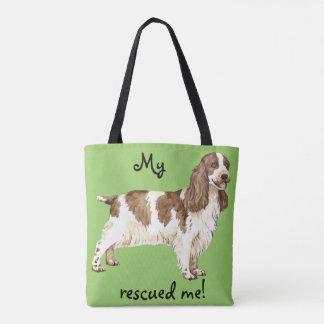 Rescue English Cocker Spaniel Tote Bag