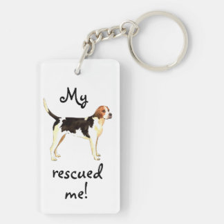 Rescue English Foxhound Keychain