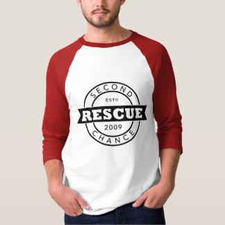 Rescue EST. on Baseball T T-Shirt