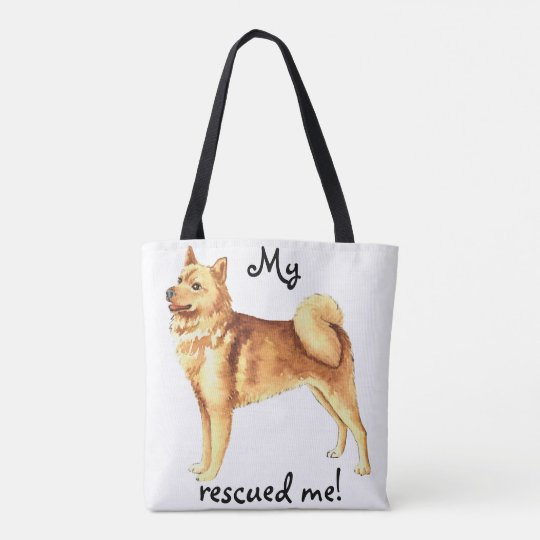 Rescue Finnish Spitz Tote Bag