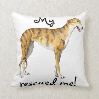 Rescue Greyhound Pillows
