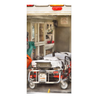 Rescue - Inside the Ambulance Photo Greeting Card
