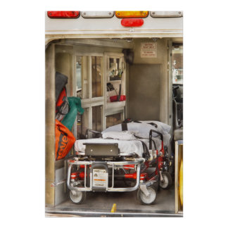 Rescue - Inside the Ambulance Poster