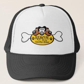 Rescue is my Favorite Breed Trucker Hat