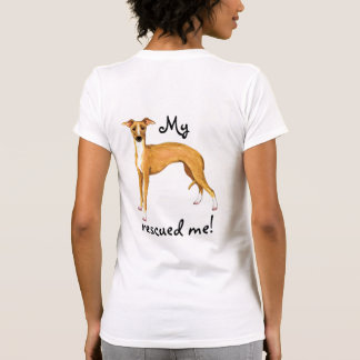 Rescue Italian Greyhound T-Shirt