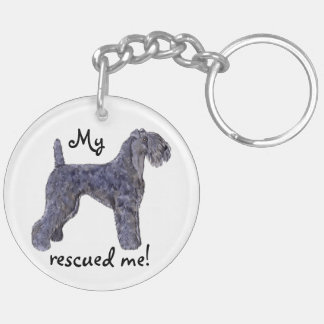 Rescue Kerry Blue Keychain