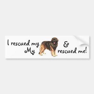 Rescue Leonberger Bumper Sticker