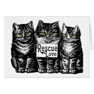 rescue love card