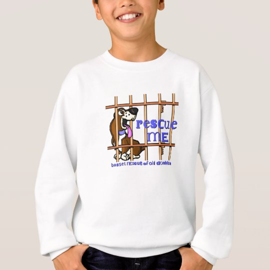 Rescue me kids sweatshirt