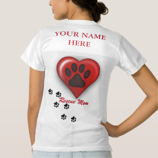 Rescue Mom Football Jersey