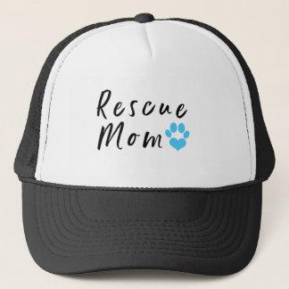 Rescue Mom Trucker Hat
