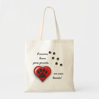 Rescue Pet Reusable Tote Bags