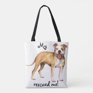Rescue Pit Bull Terrier Tote Bag