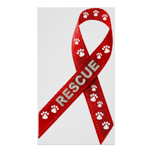 RESCUE! Red Ribbon Posters