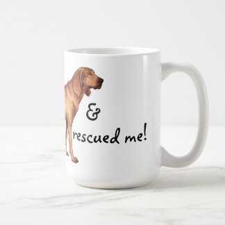 Rescue Redbone Coonhound Coffee Mug