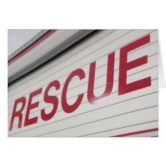 Rescue squad card