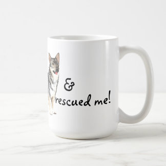 Rescue Swedish Vallhund Coffee Mug
