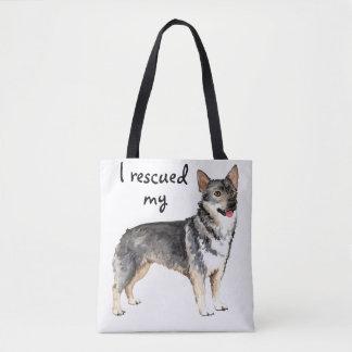 Rescue Swedish Vallhund Tote Bag