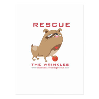 Rescue the Wrinkles! Postcard