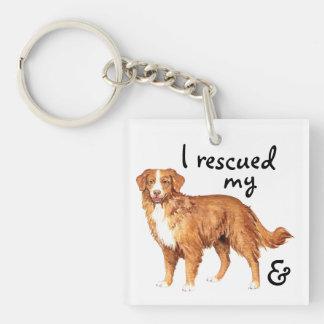 Rescue Toller Keychain