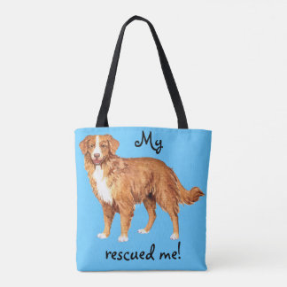 Rescue Toller Tote Bag
