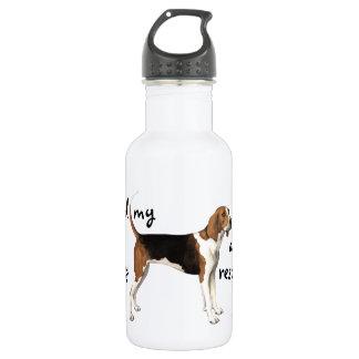 Rescue Treeing Walker Coonhound 532 Ml Water Bottle