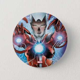 Rescue Unmasked 2 Inch Round Button