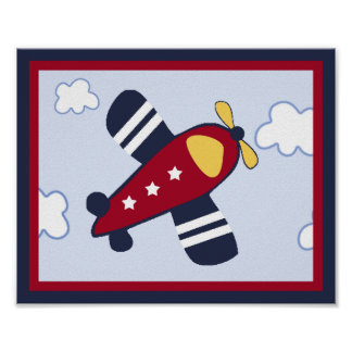 Rescue Vehicle #4 Airplane Poster/Print Poster