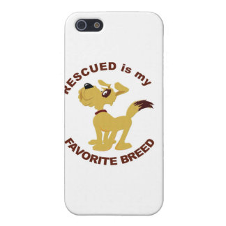 Rescued Dog Breed iPhone 5/5S Case