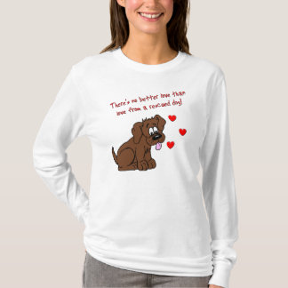 Rescued Dog Love T-Shirt