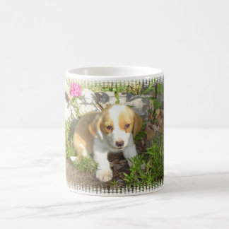 rescued puppy coffee mug