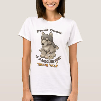 Rescued Timber Wolf T-Shirt