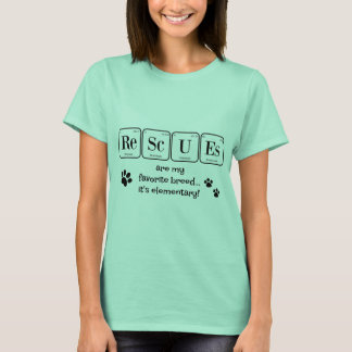 RESCUES, my favorite breed (elementary) T-Shirt
