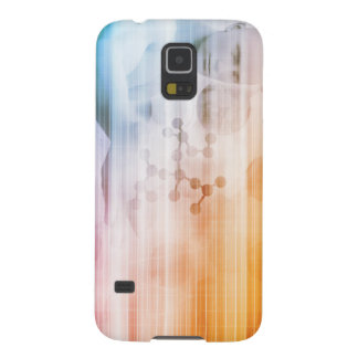 Research and Development with Doctor Viewing Galaxy S5 Cover