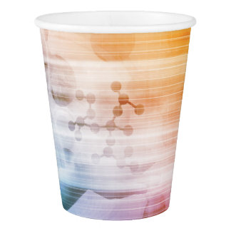 Research and Development with Doctor Viewing Paper Cup