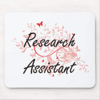 Research Assistant Artistic Job Design with Butter Mouse Pad
